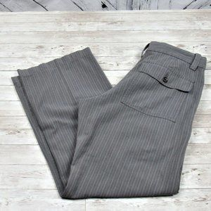 Banana Republic Pinstripe Gray Pants